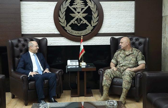 آلان عون: متضامنون مع المؤسسة العسكرية وقائدها