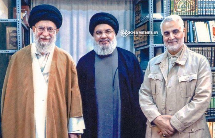 فلسطين   تقارير : نصر الله اجتمع مؤخرا مع خامنئي وقاسمي في طهران