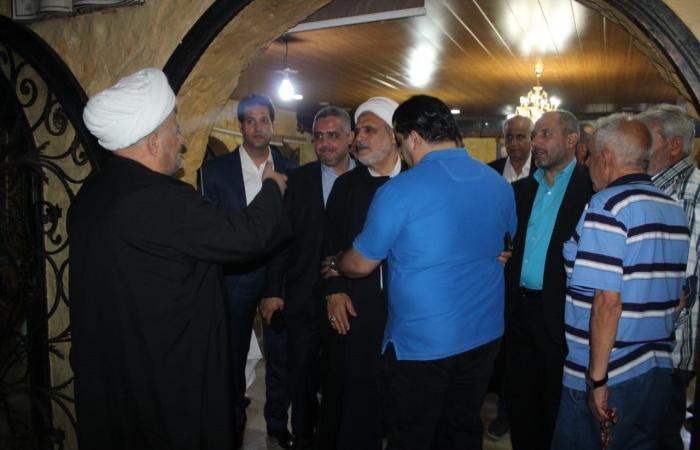 مصالحة بين عائلتي المصري وعبدالله في حورتعلا برعاية بري