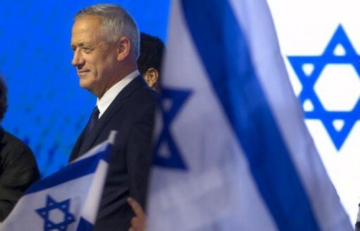 """فلسطين   غانتس يدعو الليكود لمفاوضات """"دون ألاعيب"""""""