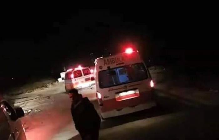 فلسطين | مصرع فتى واصابة 4 اخرين بحادث سير بمنطة الفحص بالخليل