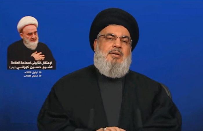 نصرالله: واشنطن تهدد الحكومة اللبنانية