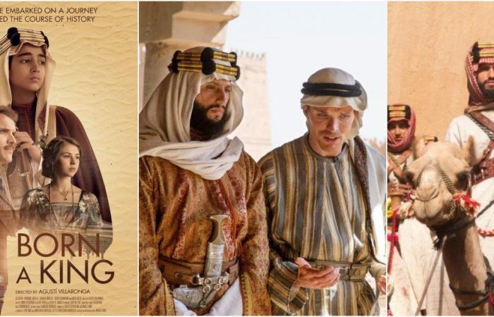 """بطل """"ولد ملكًا"""": ربيت شعري منذ 13 عامًا.. وهذا ما خشيته بسبب دور الملك عبدالعزيز!"""