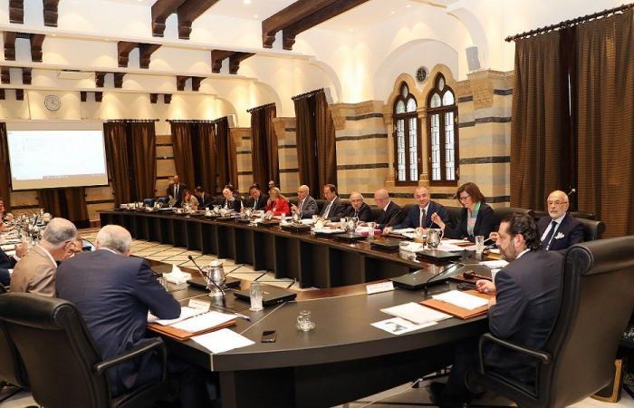 """تأجيل جلسة مجلس الوزراء إلى عصر الثلثاء """"مبدئيًا"""""""