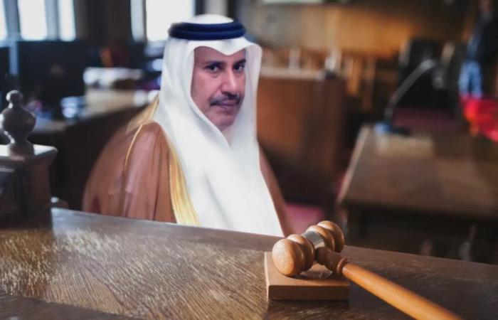 الخليح   بدء المحاكمة بفضيحة باركليز ورشاوى حمد بن جاسم اليوم