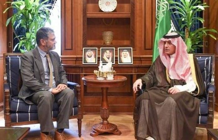 الخليح   الجبير يبحث شؤون اليمن مع رئيس البعثة الأممية للحديدة