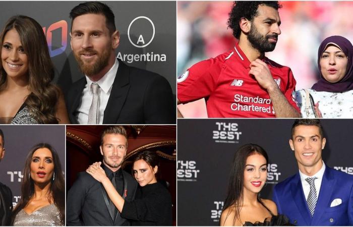 زوجة محمد صلاح بينهنّ.. ما هي وظائف زوجات لاعبي كرة القدم؟ (فيديو)