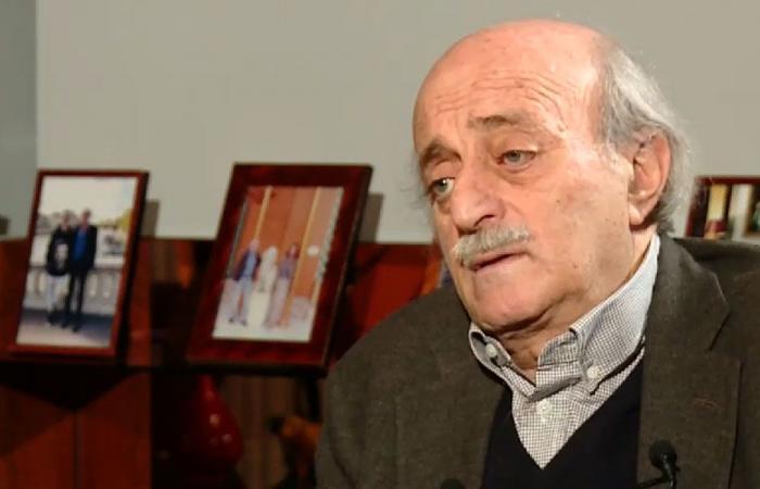 جنبلاط: غالب المعارضة السورية لا تعترف بالعرق الكردي