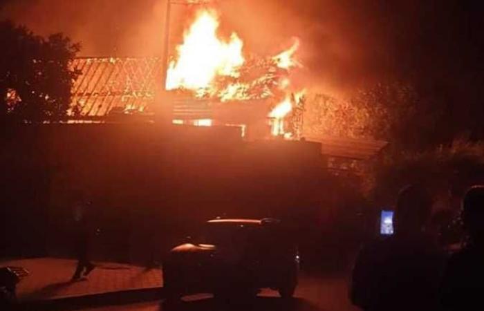 مصر | القاهرة.. حريق بكنيسة مارجرجس والدفاع المدني يسيطر