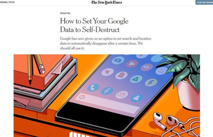 """لتدمير بياناتك على """"غوغل"""" تلقائياً.. إليك الطريقة"""