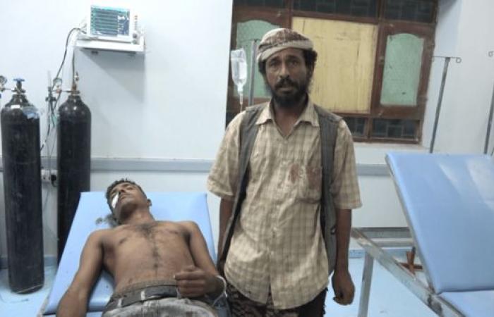 اليمن | شاهد.. عبوة ناسفة حوثية تودي بحياة مدني وتصيب آخر بالحديدة