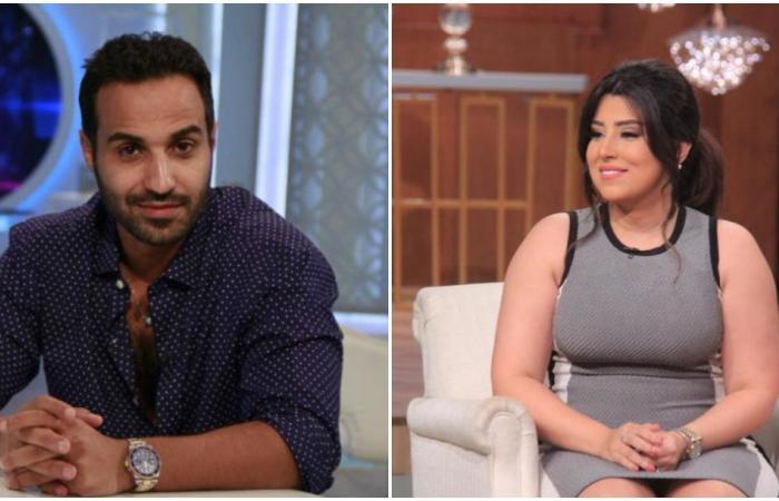 أحمد فهمي يتصدى لمعلق حاول إحراج آيتن عامر.. ماذا فعل؟