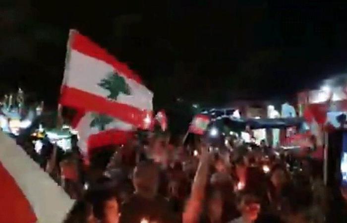 بالفيديو: بعقلين تقرع الطناجر