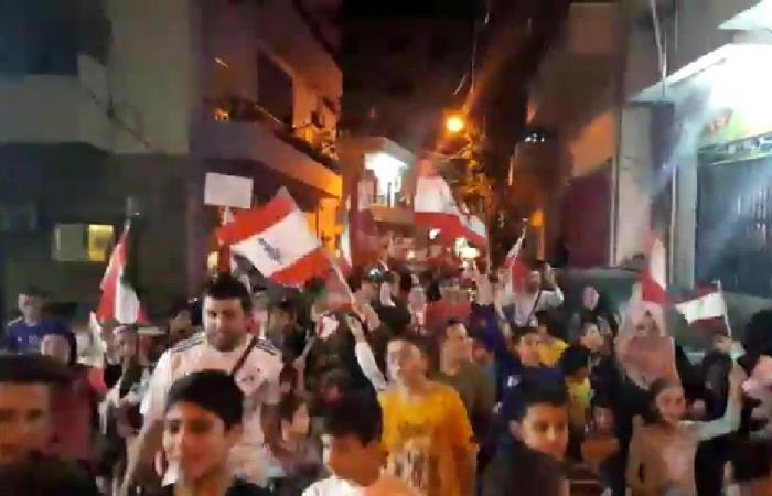 بالفيديو: تظاهرة حاشدة في القلمون