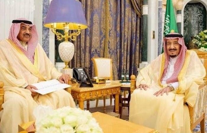 الخليح   الملك سلمان يتسلم رسالة من أمير الكويت