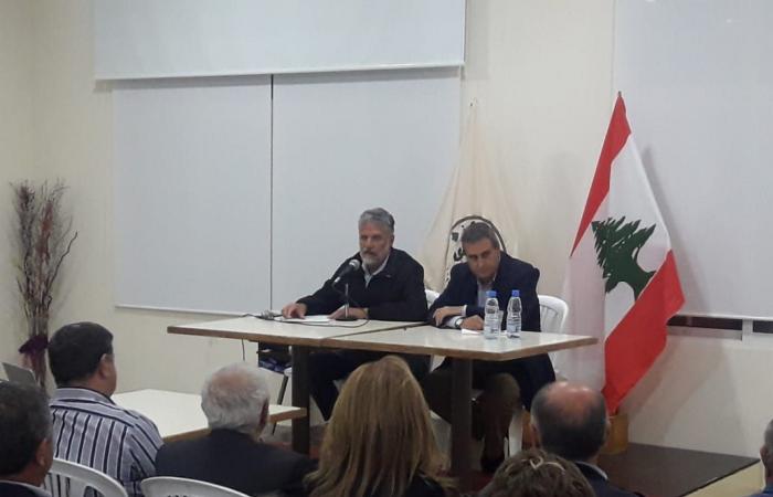 حراك أميون نظم محاضرة بعنوان: الاقتصاد اللبناني إلى أين؟