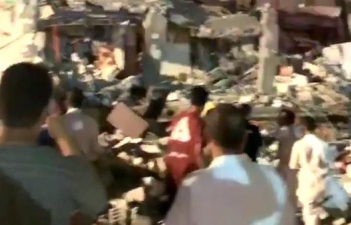 الخليح | شاهد.. انفجار داخل منزل بالدمام وجرح 13
