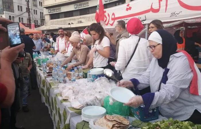 إفطار جماعي لـ1500 صائم في ساحة النور