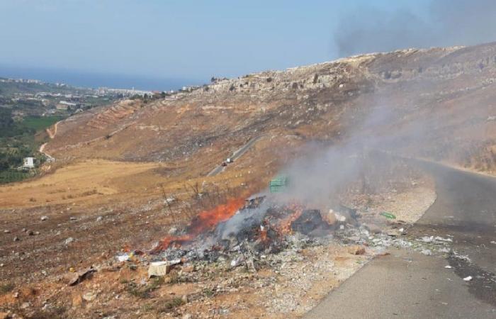دير سيدة البلمند: النفايات التي ترمى بأرضنا في بشنين تحصل دون معرفتنا