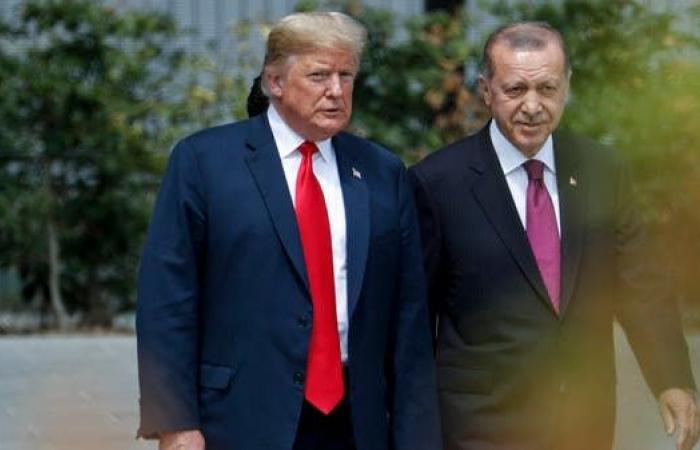 سوريا   ترمب خلال لقائه أردوغان: وقف إطلاق النار في سوريا صامد