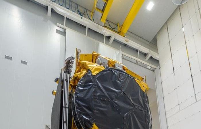 مصر | مصر تحتفل بإطلاق أول قمر صناعي مصري للاتصالات