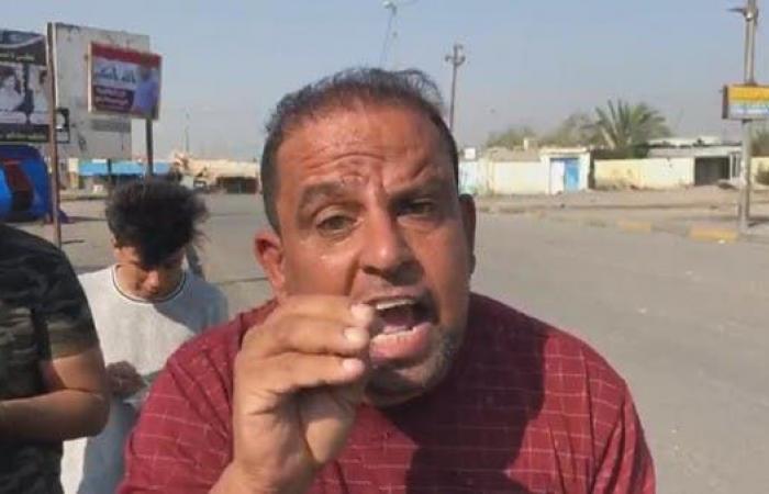 العراق | شاهد.. محتجو البصرة يرفضون أحزاباً موالية لإيران