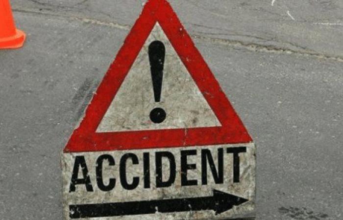 جريح في حادث سير في النبطية