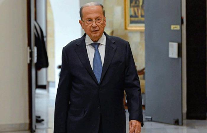 عون أبلغ الموفد الفرنسي تفضيله حكومة «تكنوسياسية»