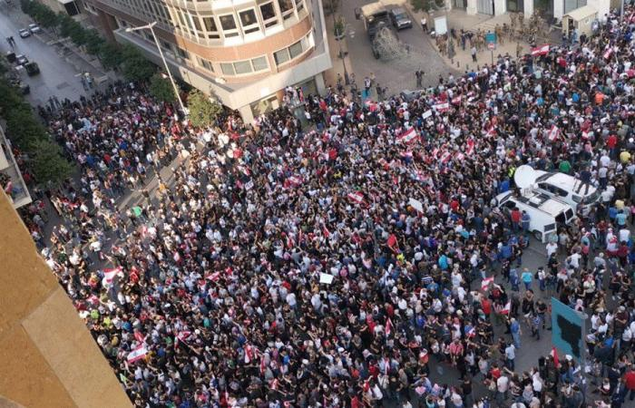 """ثوار """"رياض الصلح"""" و""""الشهداء"""": خطاب عون قدم Update للثورة!"""