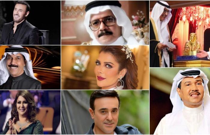 مجسّم من ذهب للأمير بدر بن عبد المحسن.. وهذه إنجازاته لعمالقة الفن! (فيديو)