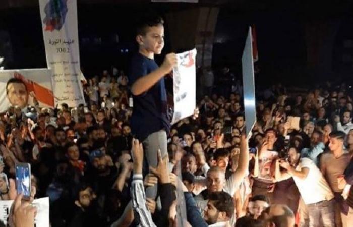 هكذا استقبل ثوار خلدة ابن الشهيد علاء ابو فخر (فيديو)