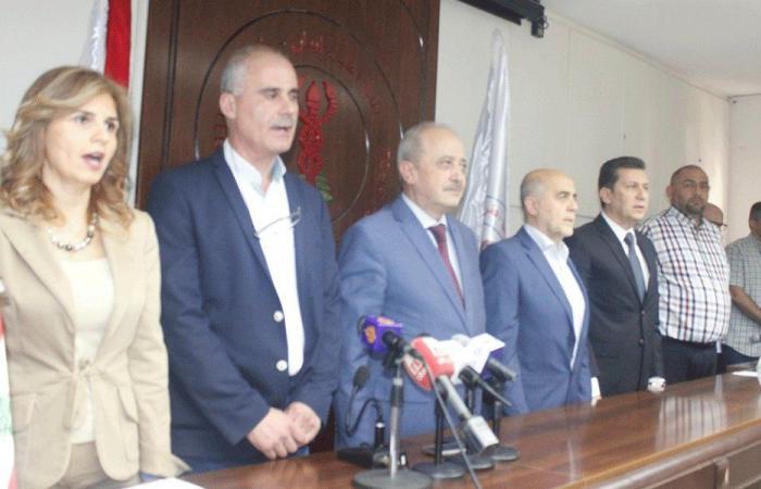اعتصام في نقابة أطباء طرابلس: القطاع الصحي من الأولويات
