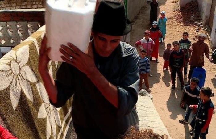 مصر | صور.. محطة مياه لخدمة نصف مليون مصري بالشرقية