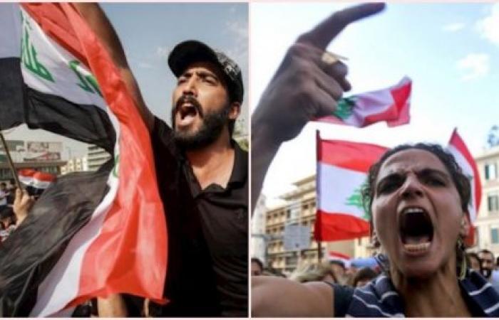 السيستاني مع انتفاضة العراق، وقبَلان ضد انتفاضة لبنان