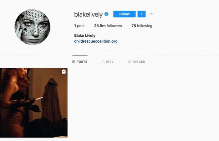 بليك لايفلي تمسح كل منشوراتها على إنستغرام.. ما عدا هذا المقطع!