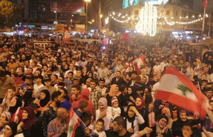 في ساحة النور.. شاشة لمتابعة مباراة منتخبي لبنان وكوريا الشمالية