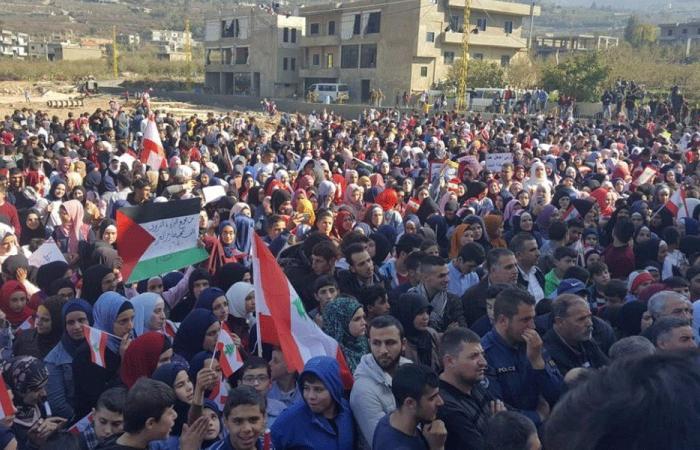بالفيديو: مسيرة طالبية في فنيدق دعمًا للثورة