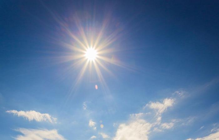 الطقس مشمس والحرارة إلى ارتفاع