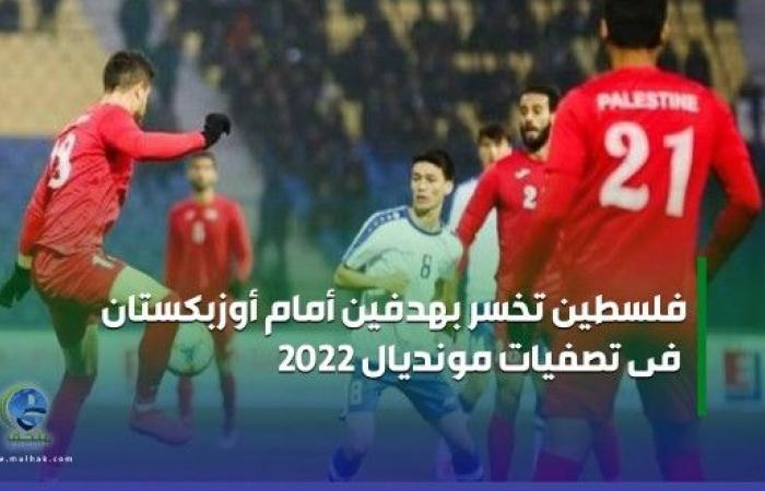 فلسطين تخسر بهدفين أمام أوزبكستان فى تصفيات مونديال 2022