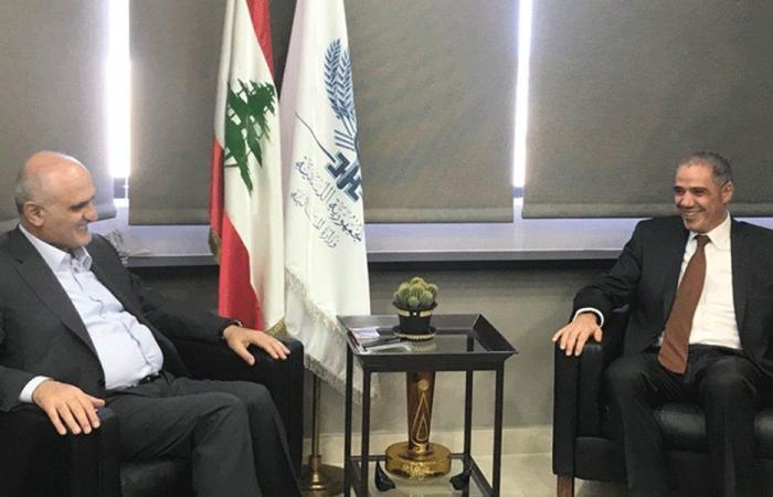 حسن خليل عرض الأوضاع مع سفير الاتحاد الأوروبي