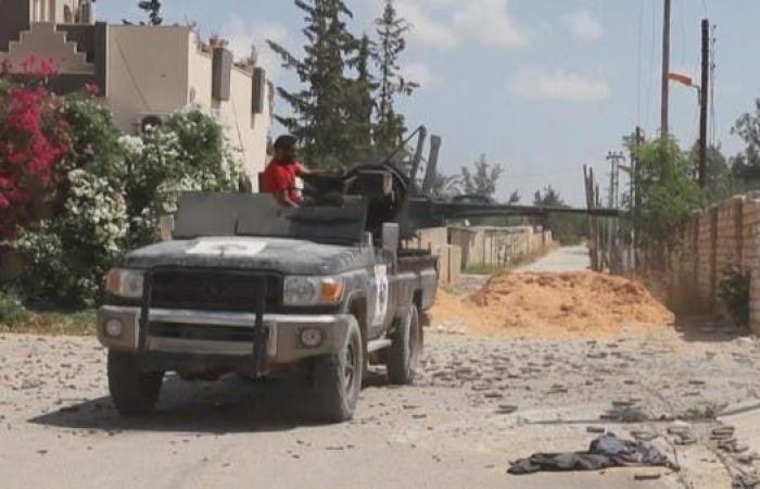 الجيش الليبي يسقط طائرة مسيرة تركية شمال ترهونة