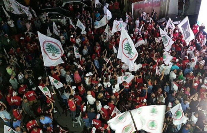 """طلاب """"القوات"""" بعيد الاستقلال: لن نستكين حتى نصل الى الجمهورية القوية"""