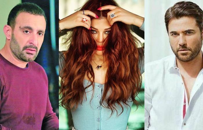 هيفاء وهبي تحذر أحمد السقا وأحمد عز: خافوا مني!