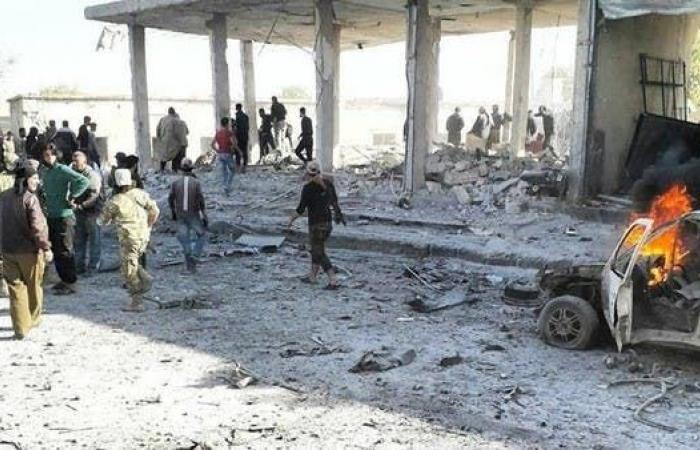 سوريا   سوريا.. مقتل وجرح العشرات بانفجار سيارة بتل أبيض