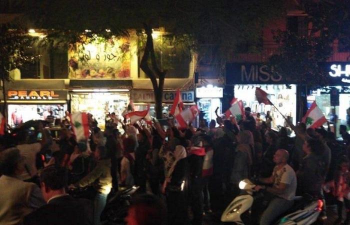 بالفيديو- مسيرة تجوب عددا من شوارع بيروت
