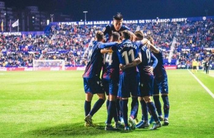 ليفانتي يبتعد عن مناطق الهبوط في الدوري الإسباني