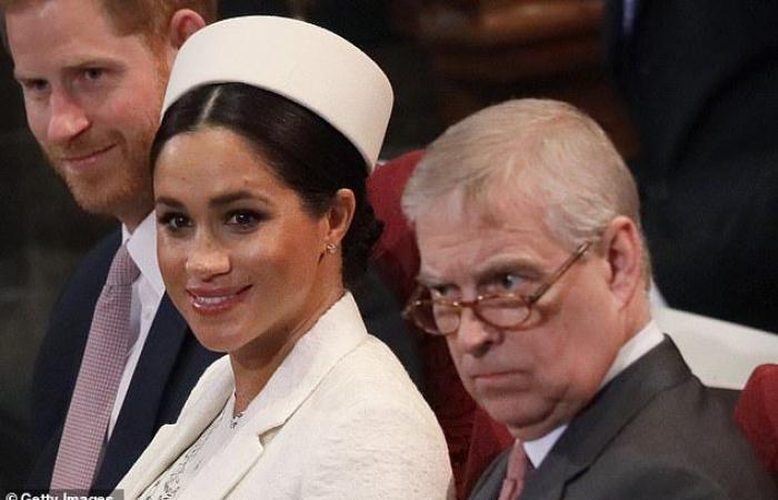 إليكِ رد فعل ميغان ماركل على فضائح الأمير أندرو الأخلاقية!