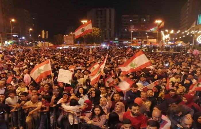 حشود شعبية في طرابلس