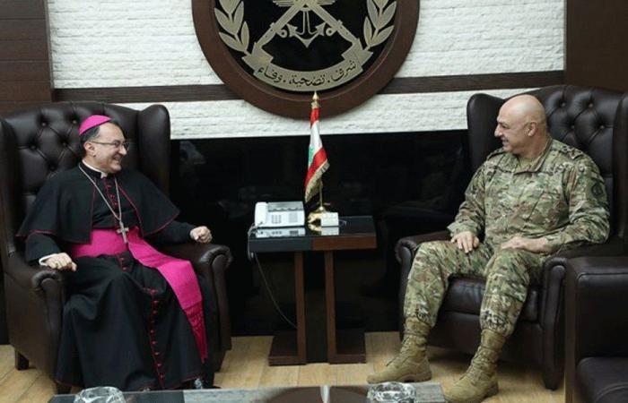 السفارة البابوية: الجيش سمع صرخة اعتراض اللبنانيين الصادقة