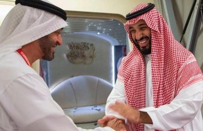 الخليح | الأمير محمد بن سلمان يغادر الإمارات